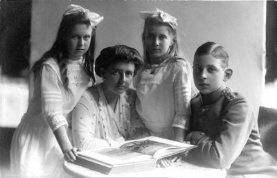 Familie aus Oldenburg 1914