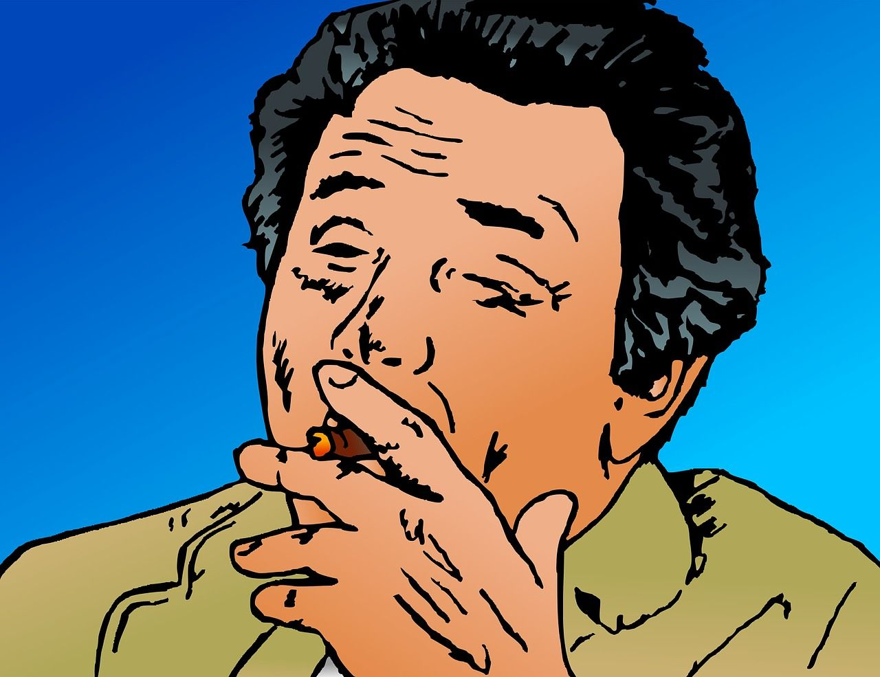 Peter Falk als Columbo