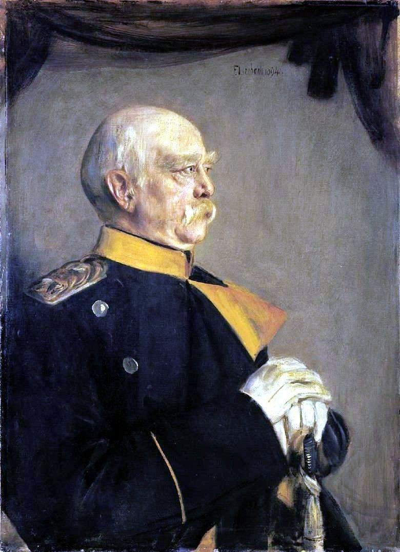 Franz von Lenbach Bismarck 1894