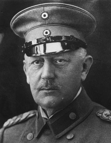 Helmuth Johannes Ludwig von Moltke 1914