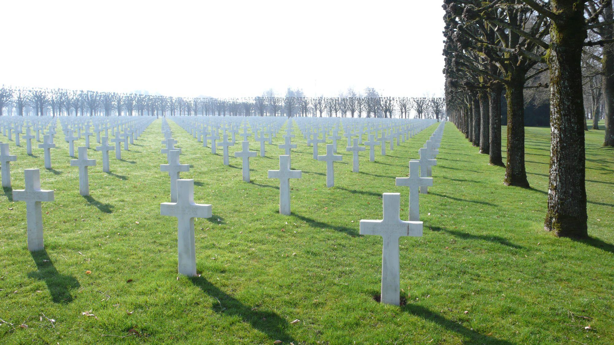 Verdun - Montfaucon - American Cimetery - Morgen