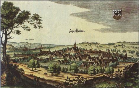 Ingelheim merian 1645