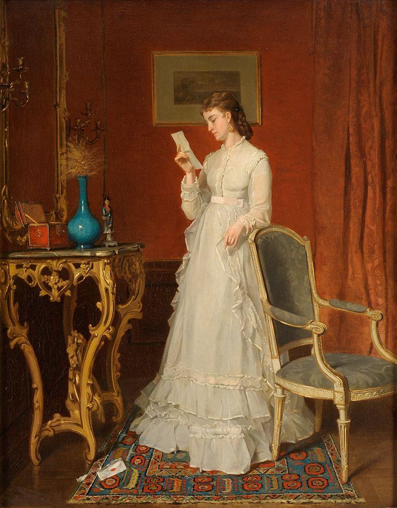 Der Liebesbrief 19 Jahrhundert