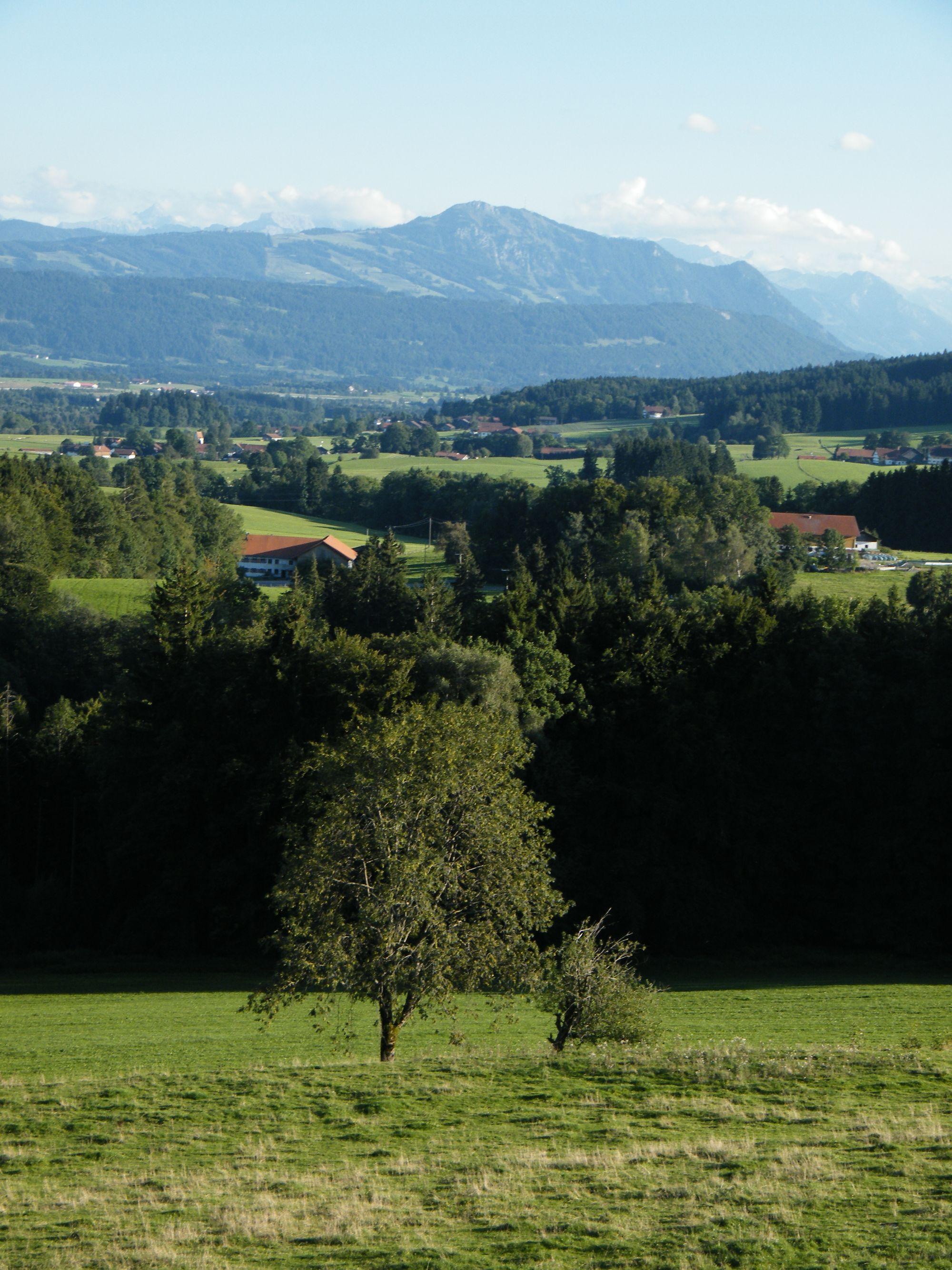 Alpenvorland mit grünten