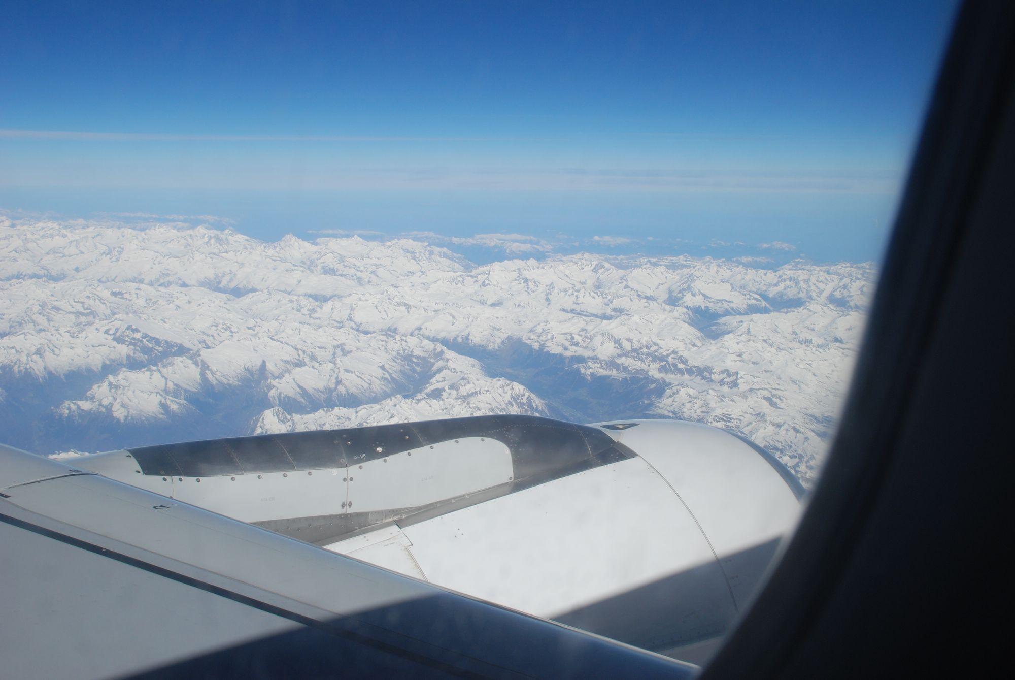 Alpen Flugzeug