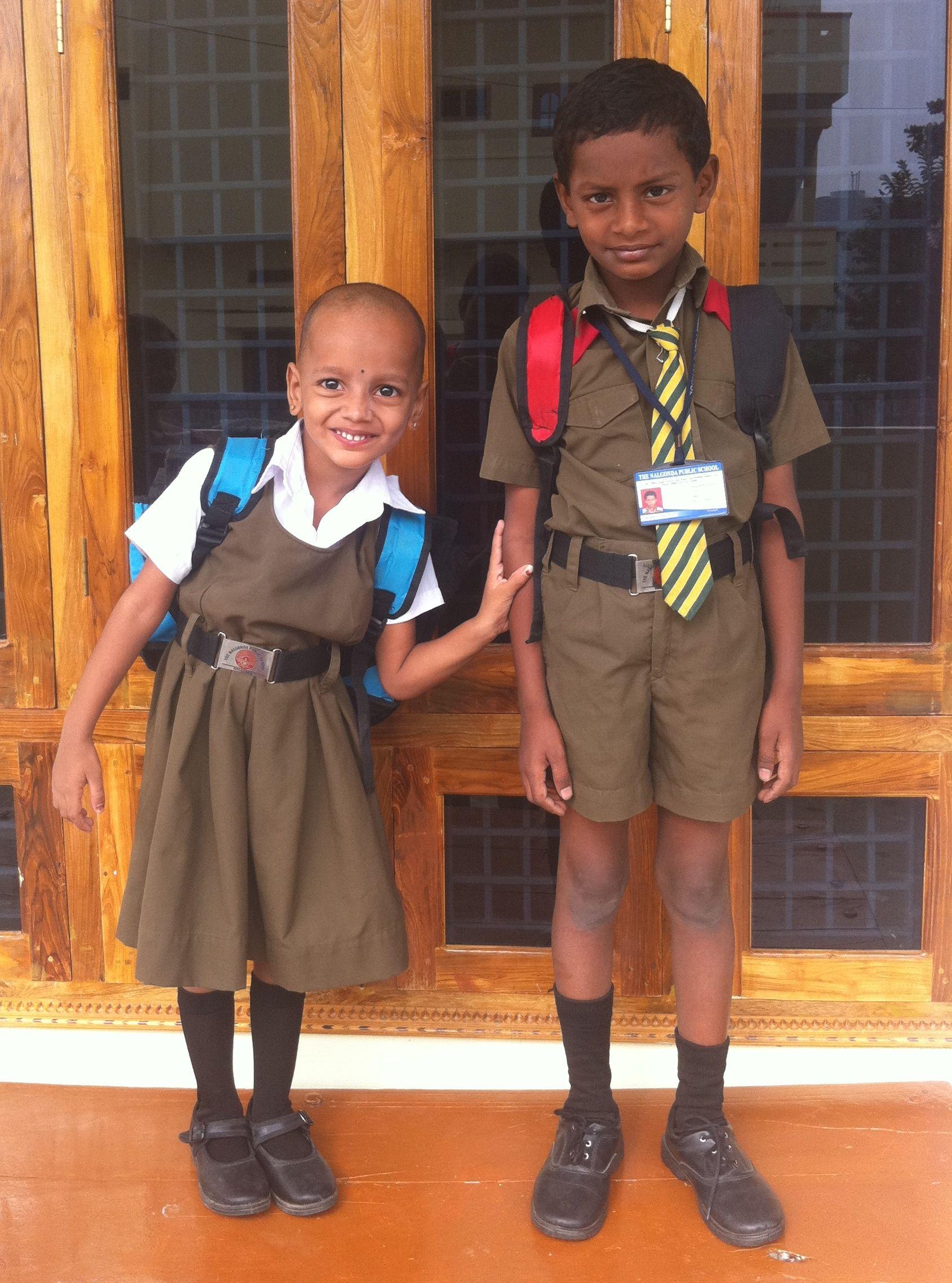 Schuluniformen in Indien