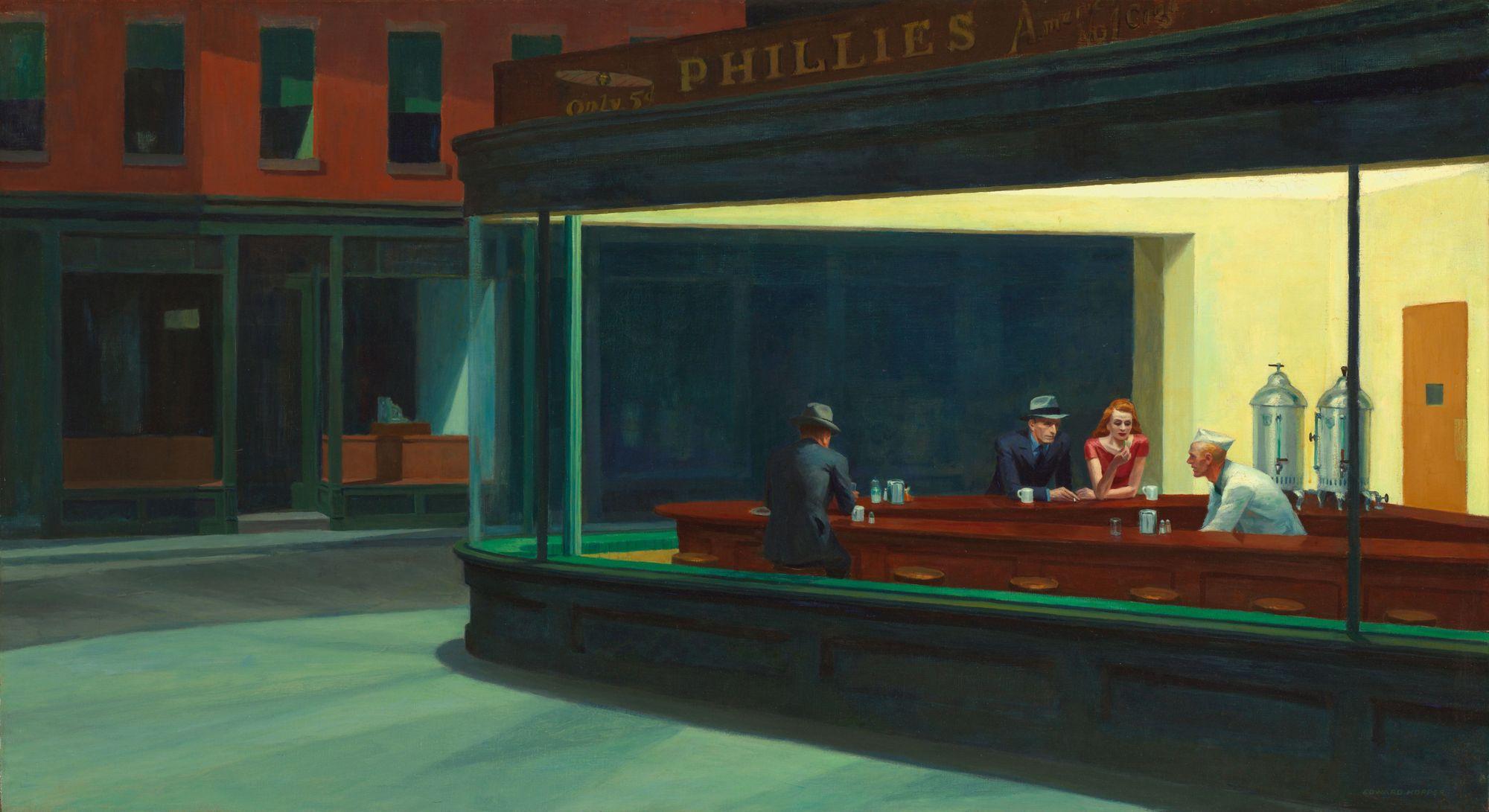 Edward Hopper: Nighthawks