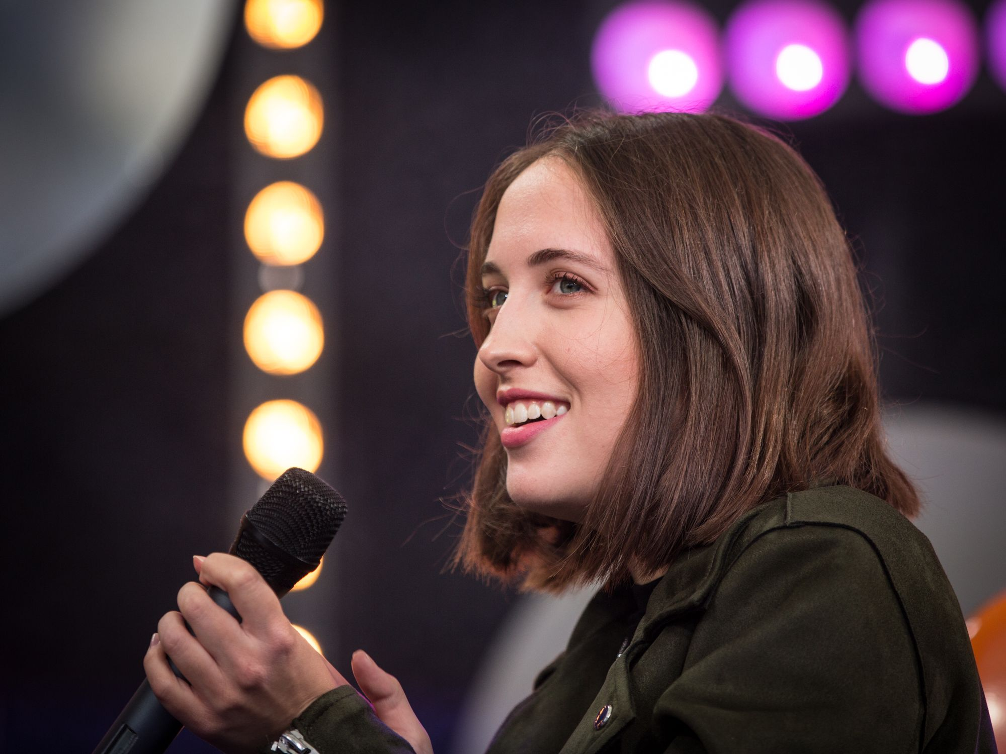 Alice Merton at the SWR3 New Pop Festival 2017