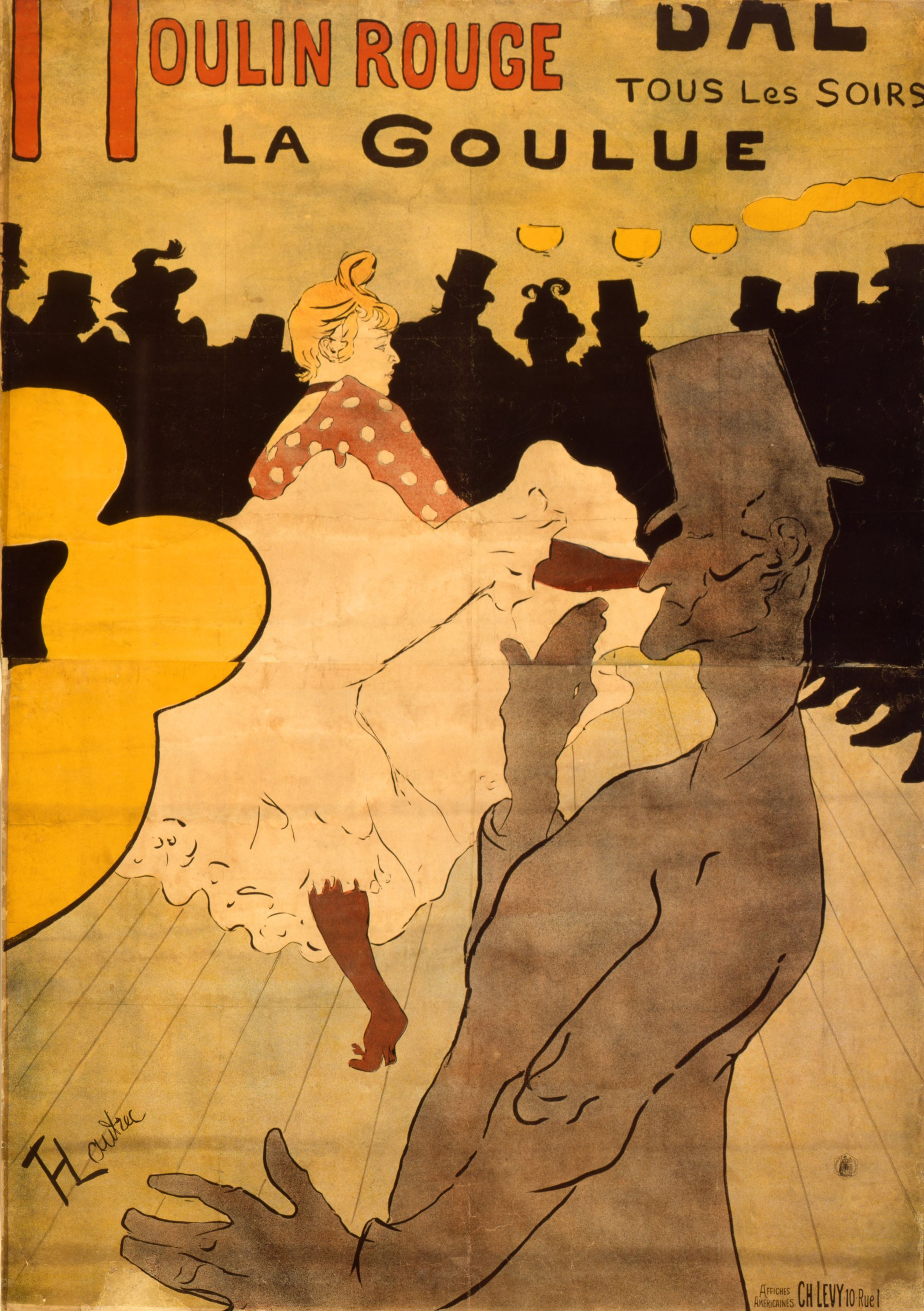 Henri de Toulouse-Lautrec: Moulin Rouge, La Goulue (1891),