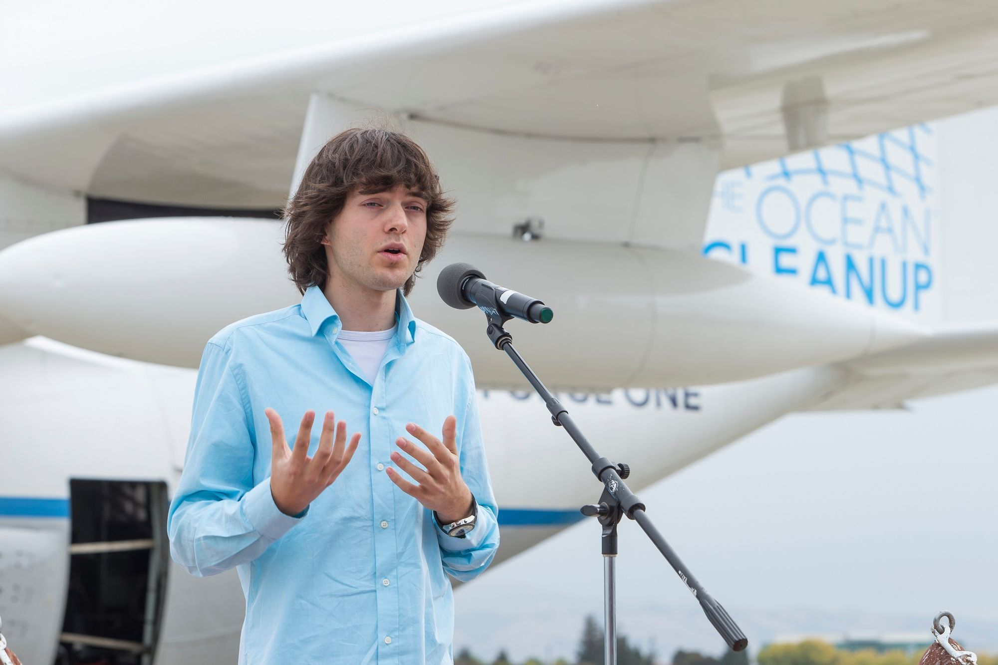 Boyan Slat/The Ocean Cleanup