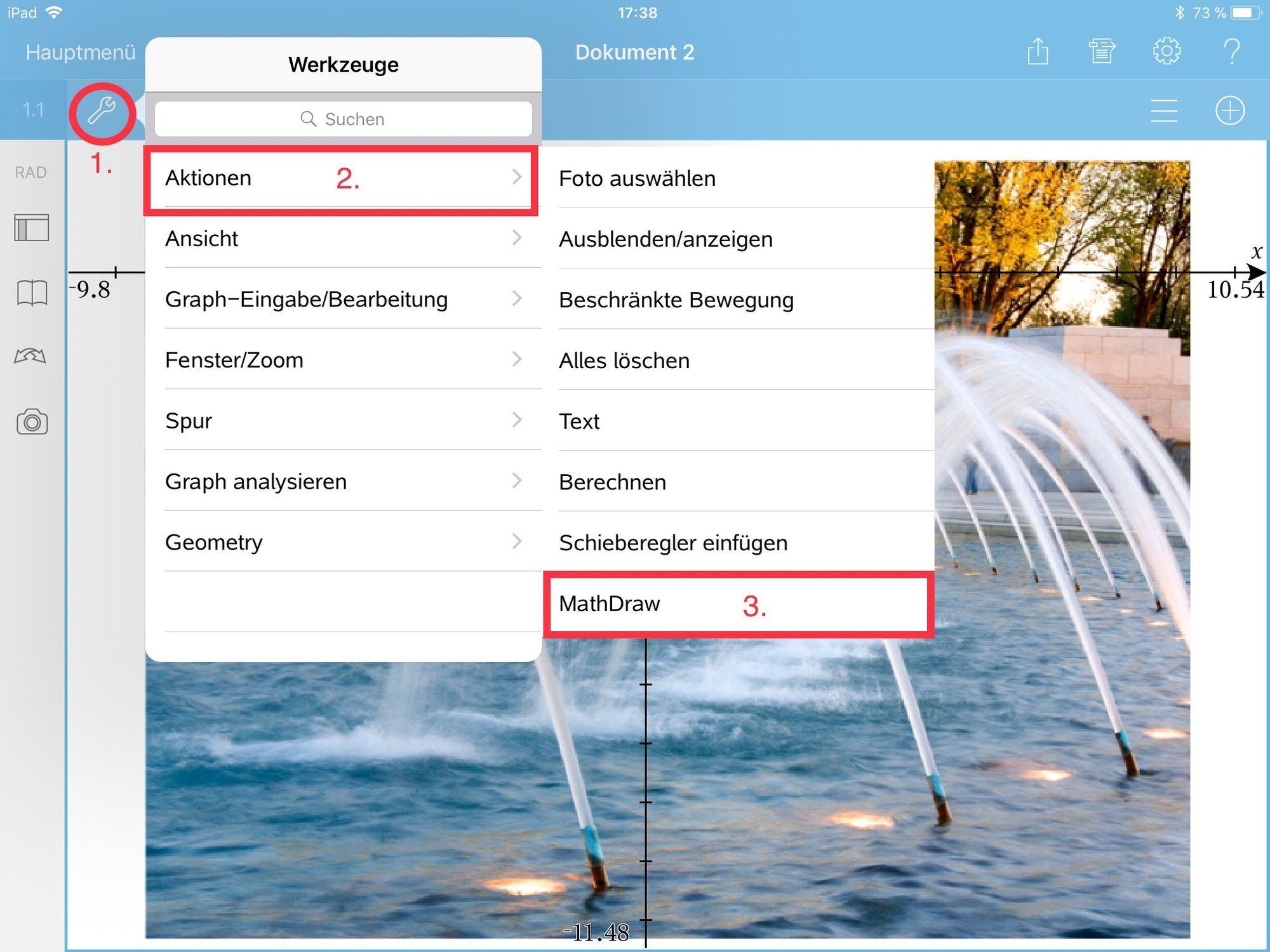 Screenshots aus /TI-Nspire CAS/
