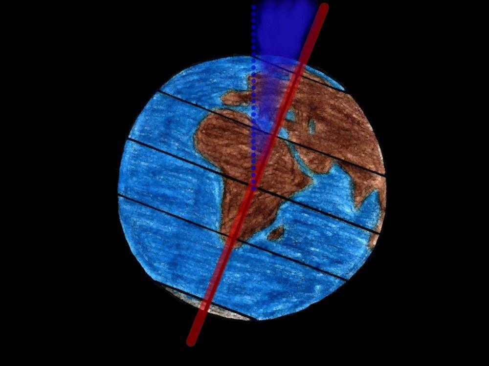 Neigung der Erde CC By laura.nie