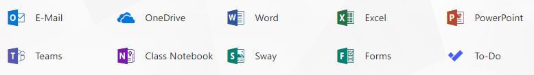 Office 365 für Schüler/innen (ein kostenloser Service von Microsoft)