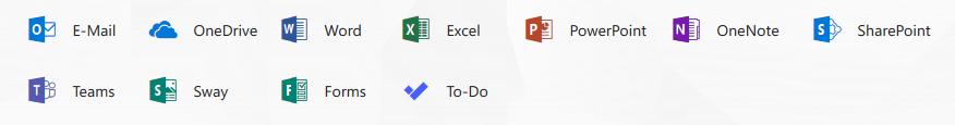 Screenshot von Office 365 (C) Microsoft