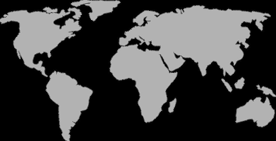 Abb. 2: Weltkarte (pixabay.com/CC0)