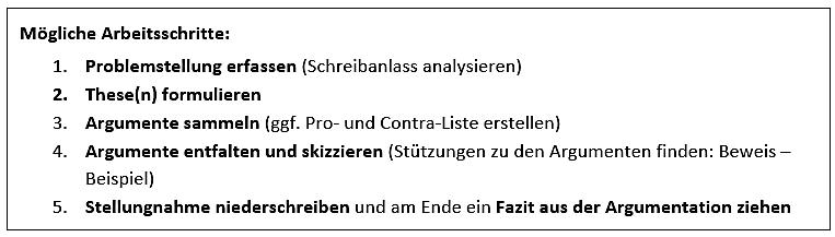 competitor research template - arbeitsblatt er rtern stellungnahme deutsch